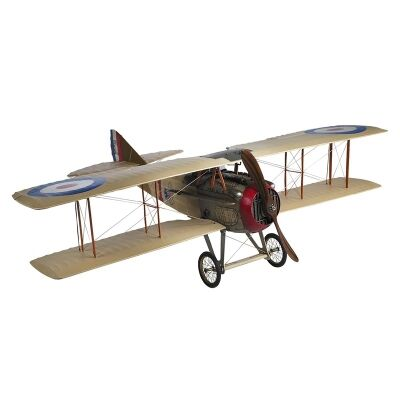 Spad XIII Classic Eddie Rickenbacker Airplane Scale Model