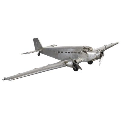1930s Junker JU52 Airplane Aluminium Scale Model