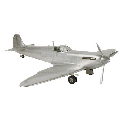 1936 Spitfire Fighter Airplane Aluminium Scale Mode