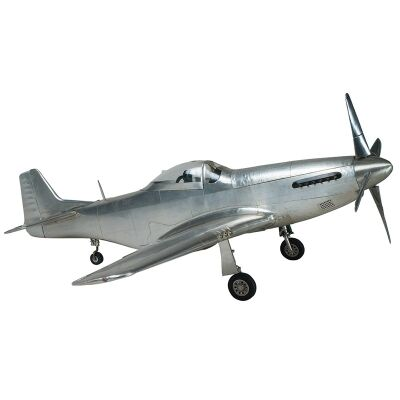 P51 Mustang Aircraft Aluminium Scale Model