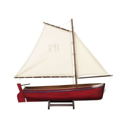 Madeira Y9 Hand Carved Sailboat Model