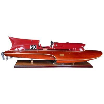 Thunderboat Motorboat Model