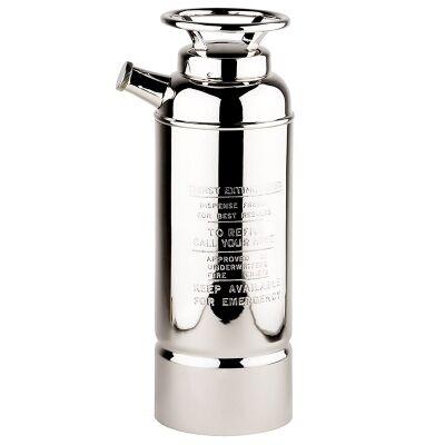 Fire Extinguisher Brass Cocktail Shaker