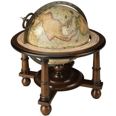 Navigators Terrestrial Globe with Wooden Stand