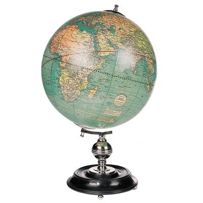 Weber Costello 1920s USA Tabletop Globe - Large