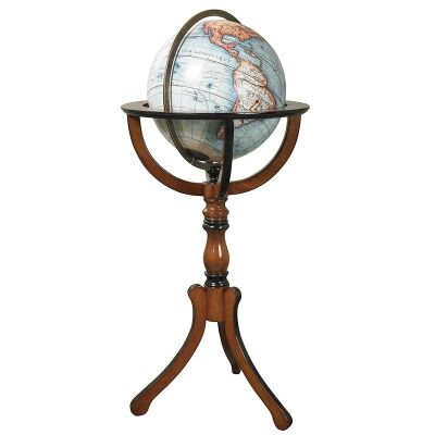 Classic Library Floor Stand Globe