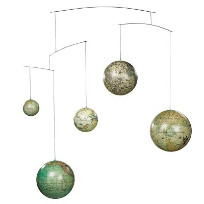 Globe Mobile Hanging Decor