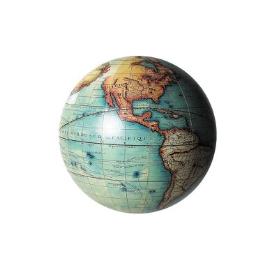 Vaugondy 1745 Medium Globe - Light Blue