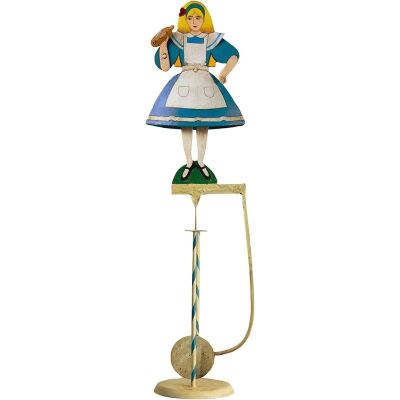 Authentic Models Hand Crafted Metal Skyhook Balance Toy, Alice