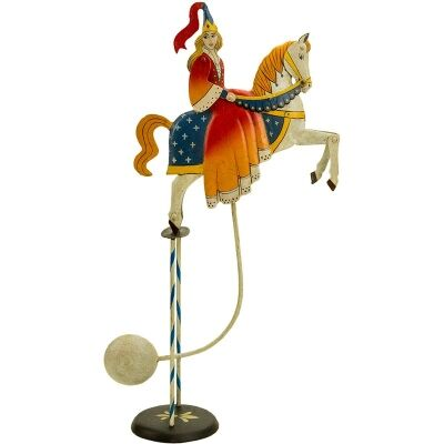 Authentic Models Hand Crafted Metal Skyhook Balance Toy, Princess