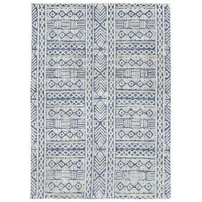Amristar Glenroy Modern Tribal Rug, 330x240cm, Blue