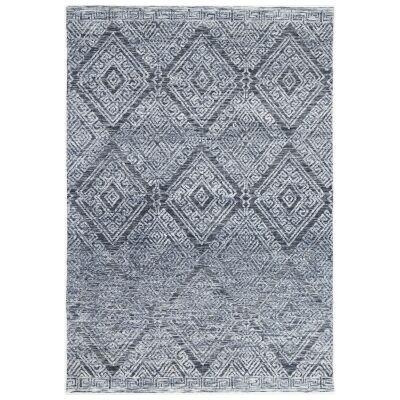 Amristar Glenfall Modern Tribal Rug, 330x240cm, Denim