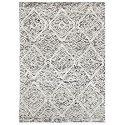 Amristar Glenfall Modern Tribal Rug, 290x200cm, Grey