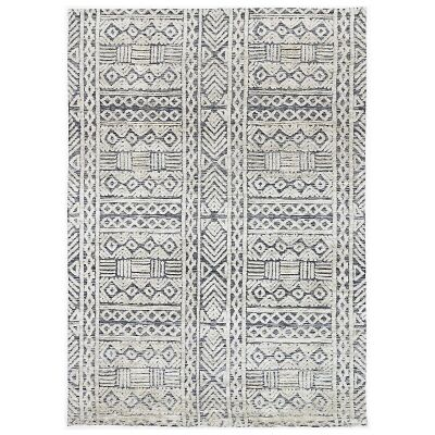 Amristar Glenroy Modern Tribal Rug, 290x200cm, Navy