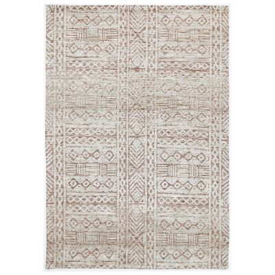 Amristar Glenroy Modern Tribal Rug, 330x240cm, Rust