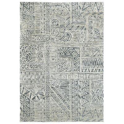 Amristar Newburg Modern Tribal Rug, 290x200cm, Anthacite