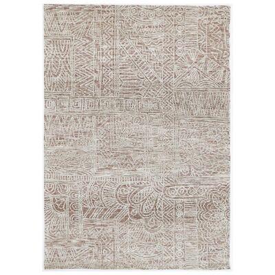 Amristar Newburg Modern Tribal Rug, 330x240cm, Rust