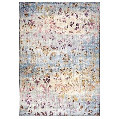 Florence Egyptian Made Stunning Designer Rug in Pastel - 290x200cm