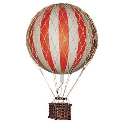 Floating The Skies Hot Air Balloon Model, Red