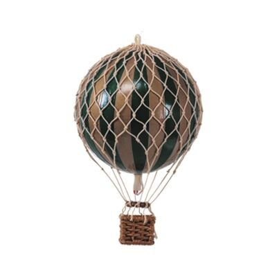 Travels Light Hot Air Balloon Model, Green / Gold