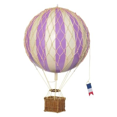 Travels Light Hot Air Balloon Model, Lavender