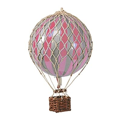 Travels Light Hot Air Balloon Model, Silver / Pink