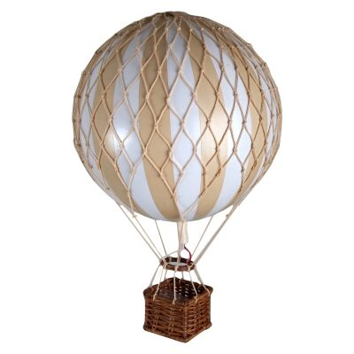 Travels Light Hot Air Balloon Model, White / Ivory
