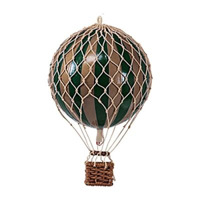 Royal Aero Hot Air Balloon Model, Green / Gold