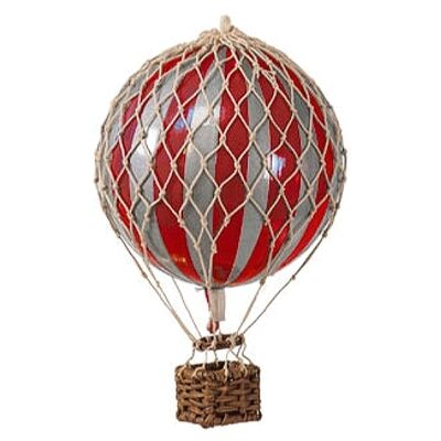 Royal Aero Hot Air Balloon Model, Red / Silver