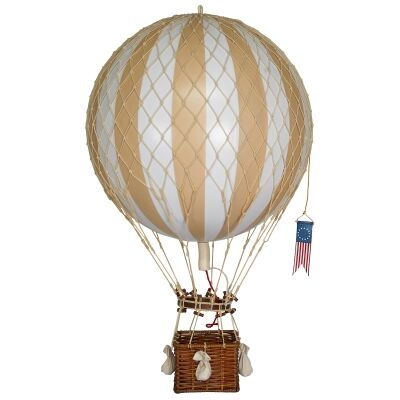 Royal Aero Hot Air Balloon Model, White / Ivory