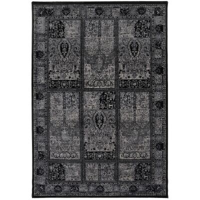Aquarelle Jarod High Sheer Oriental Rug, 290x200cm, Grey