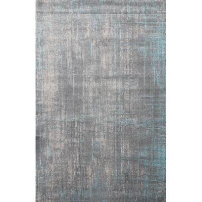 Aqua Silk Ravena Turkish Made Modern Rug, 150x220cm, Grey