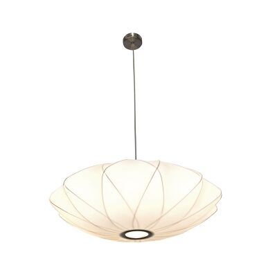 Aragon Fabric Pendant Light, Medium