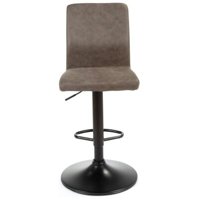 Ashton Fabric & Metal Gas Lift Counter / Bar Stool