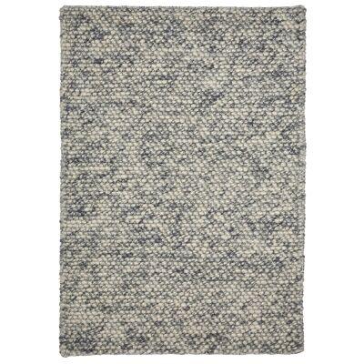 Aspen Handwoven Wool Rug, 225x155cm, Cloud