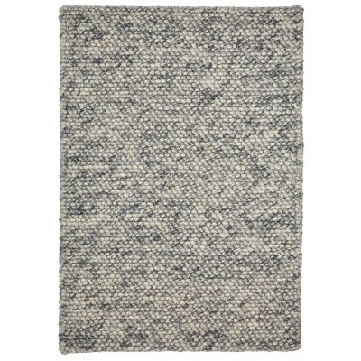 Aspen Handwoven Wool Rug, 160x110cm, Cloud