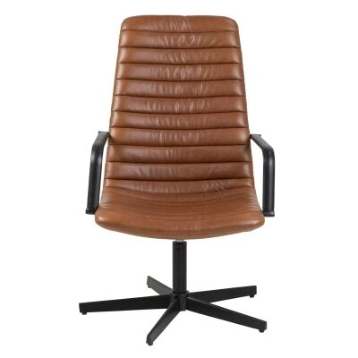 Kenya PU Leather Office Armchair
