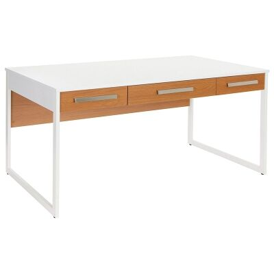 Active 3 Drawer 150cm Writing Desk