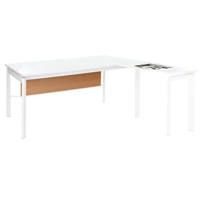 Active 180cm Executive Desk with Detachable Return