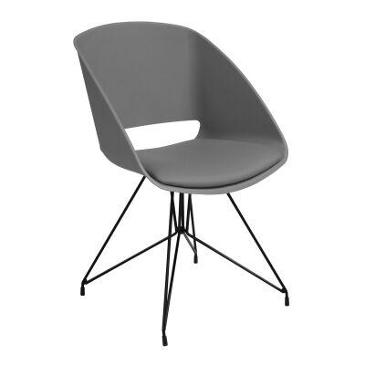 Beckett Chair, Grey / Black