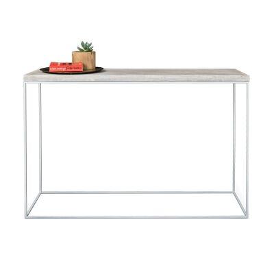 Josie Commercial Grade Concrete Top Console Table, 120cm
