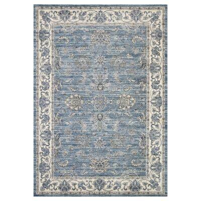 Atlas Saniya Oriental Rug, 80x170cm, Blue