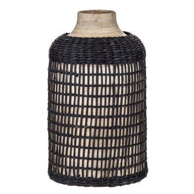 Helki Wooden Bud Vase, Small