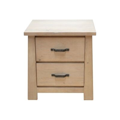 Tiverton Mountain Ash Timber Bedside Table