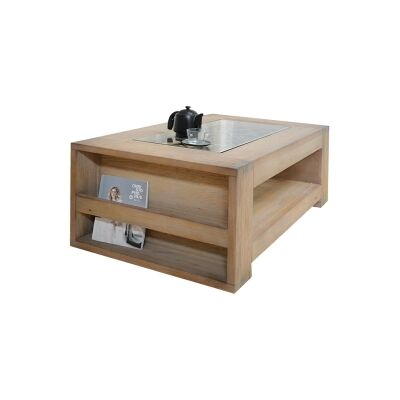 Enrifield Mountain Ash Timber Coffee Table, 118cm