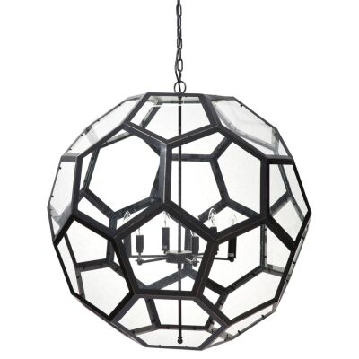Bedford Iron & Glass Pendant Light
