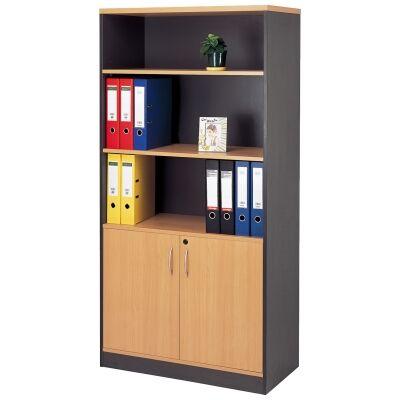 Neway 2 Door Bookcase