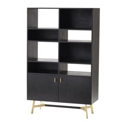 Gilte Acacia Timber Display Shelf