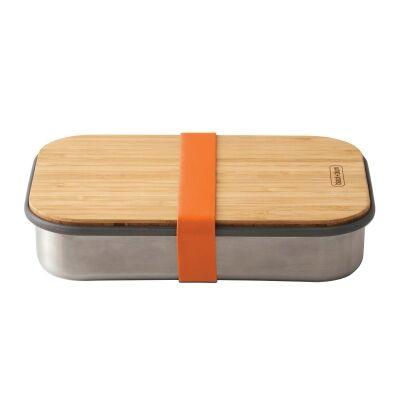 Black + Blum Stainless Steel Sandwich Box, 900ml, Orange