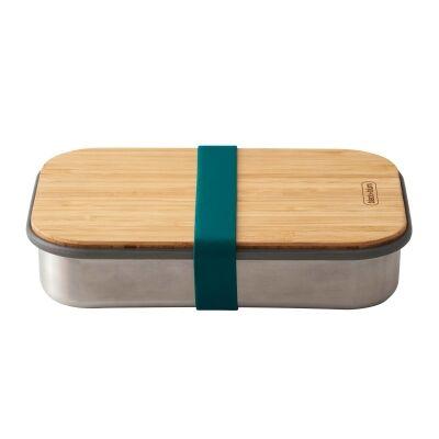 Black + Blum Stainless Steel Sandwich Box, 900ml, Ocean